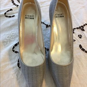 Geougous Stuart Weitzman Gray Women's Shoes